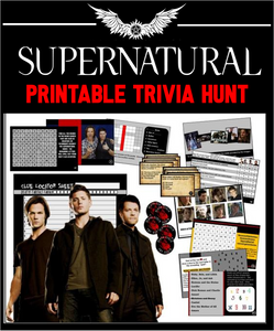 Supernatural Trivia Treasure Hunt