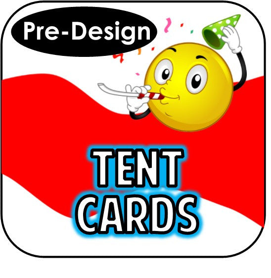 Printable Tent Cards - Custom