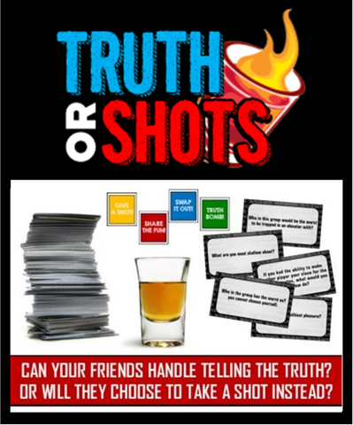 Truth or Shots Drinking Game!