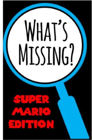 What's Missing - Super Mario Party Game!