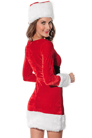 Mrs Santa Claus Dress Costume