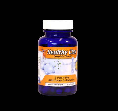 Edible Healthy Clay Cleanse-capsules 1bottle  Detox Cleanse Natural Healing Clay (US Free Shipping)