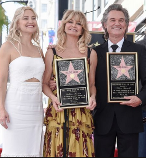 Beverly Hills Congratulates Goldie Hawn and Kurt Russell!