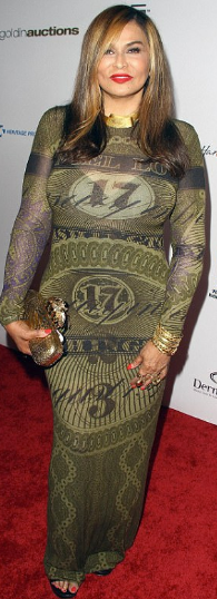 Beyonce's Mom Hits the Red Carpet
