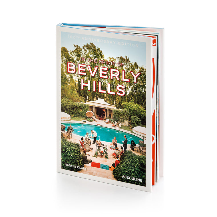 In the Spirit of Beverly Hills coffee table book