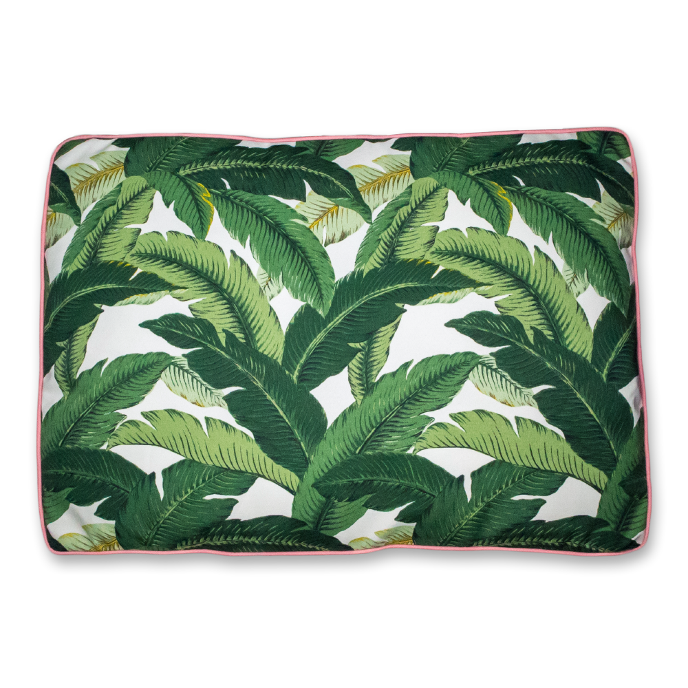 Beverly Hills Banana Leaf Dog Bed