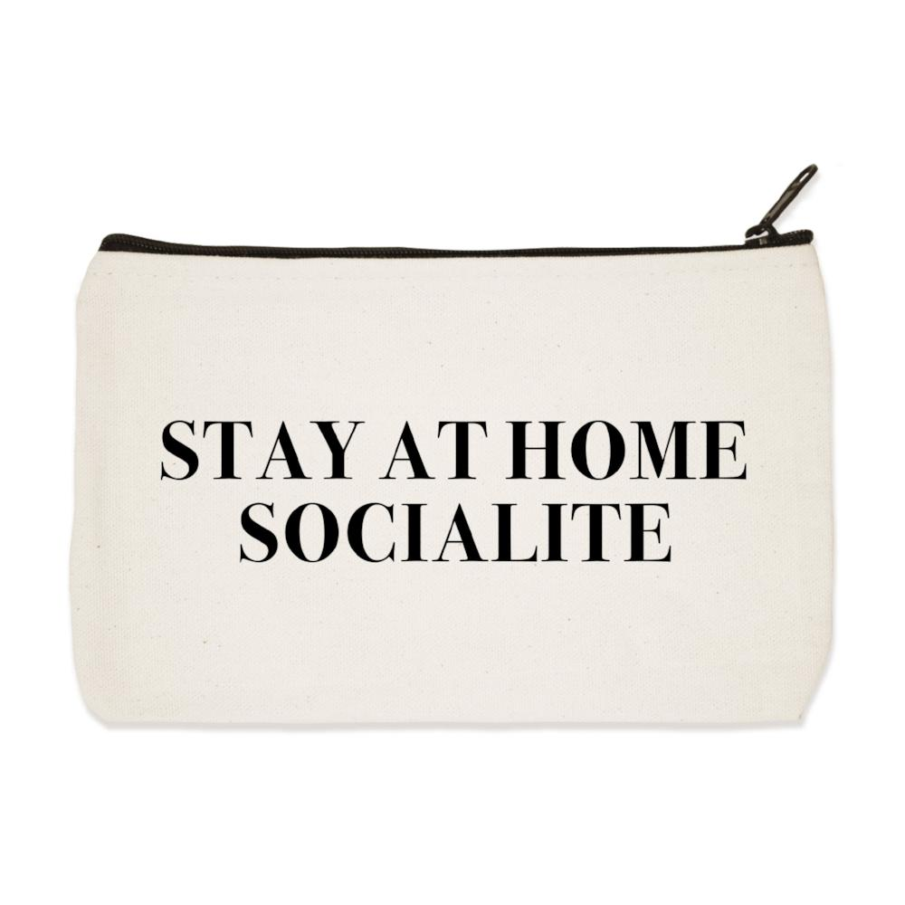 Stay at Home Socialite Zip Pouch
