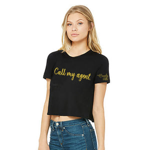 Crop Top - Call My Agent