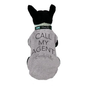 Call My Agent dog tee