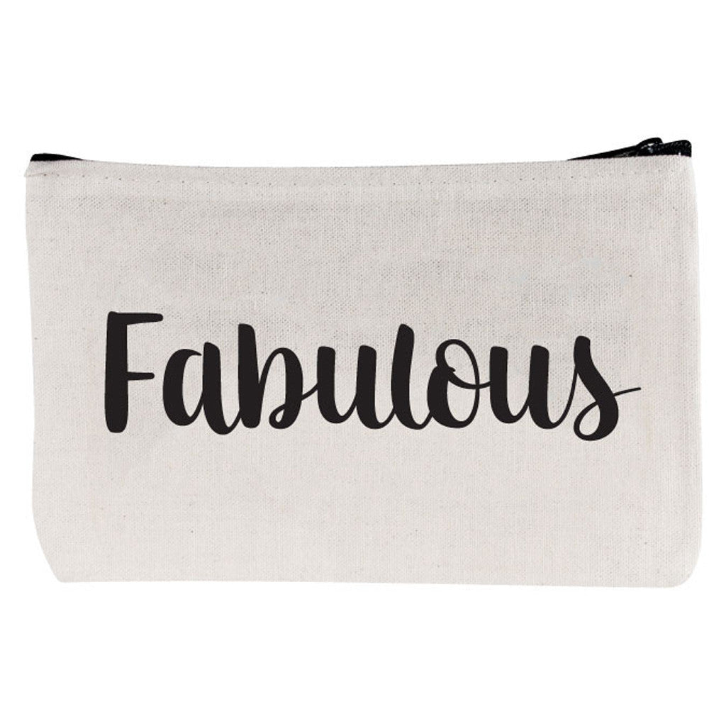 "Beverly Hills 90210 zipper pouch ""Fabulous"""