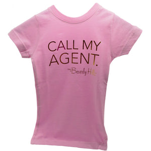 Girls pink tee from Beverly Hills