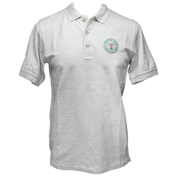 Beverly Hills Dog Show Men's Gray Polo