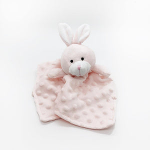 security blanket pink bunny soft