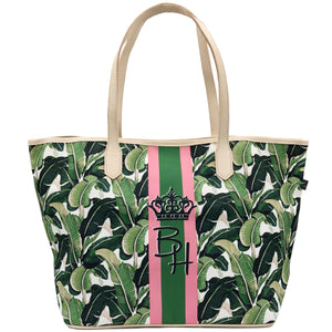 Beverly Hills Banana Leaf Never Full Tote