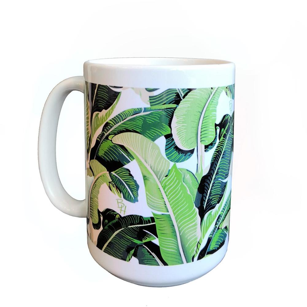 Beverly Hills Banana Leaf Mug
