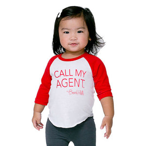 Beverly Hills kids Call My Agent tee shirt
