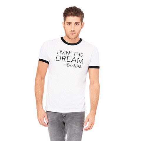 mens beverly hills t shirt