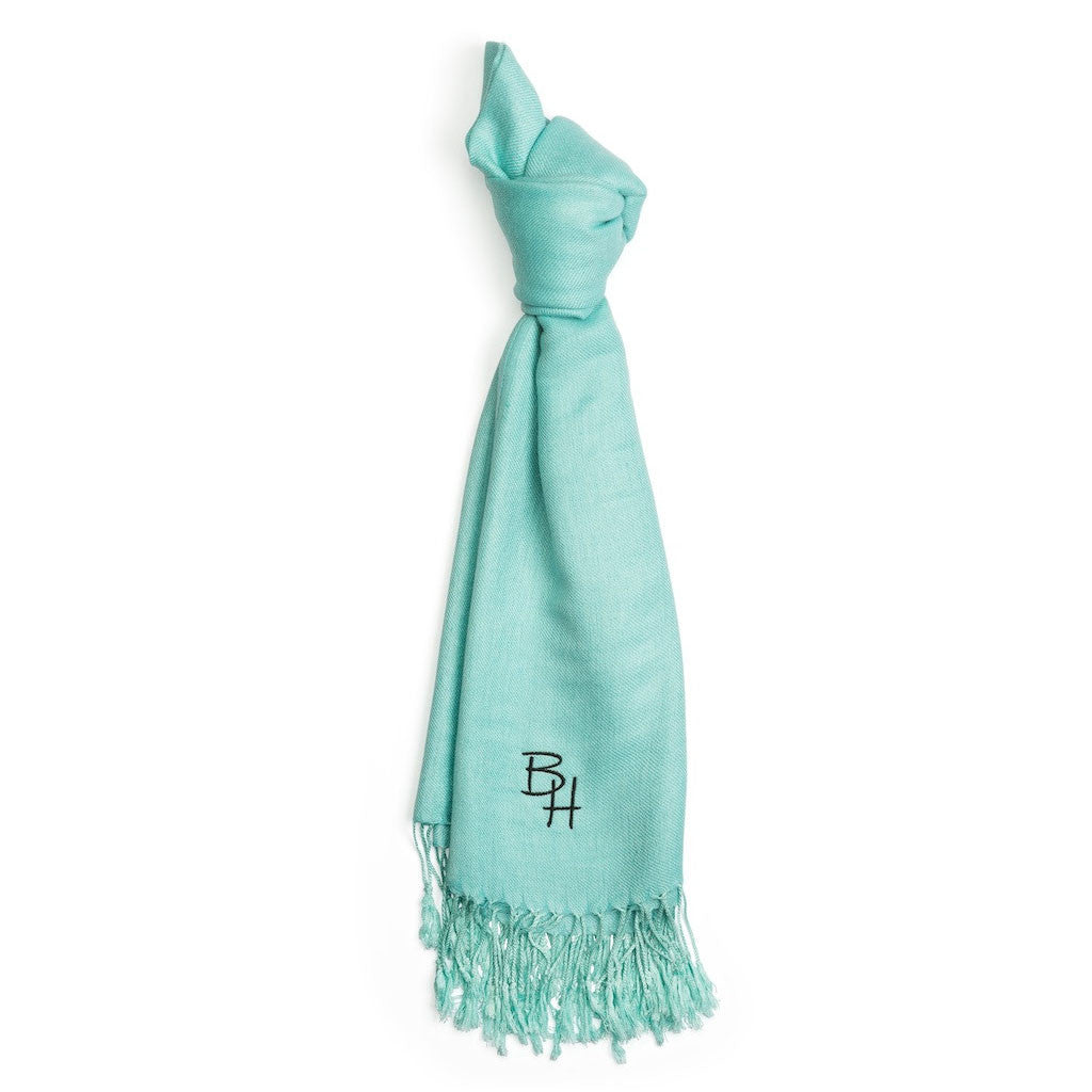 Soft Blue Pashmina from Beverly Hills