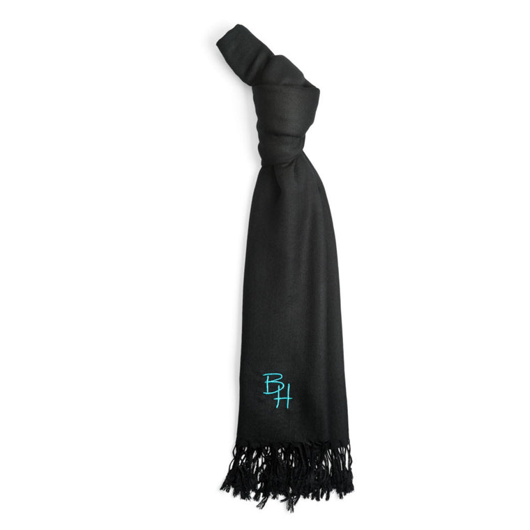 Soft black pashmina from Beverly Hills
