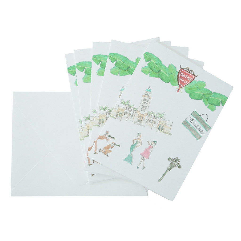 Beverly Hills 90210 stationery