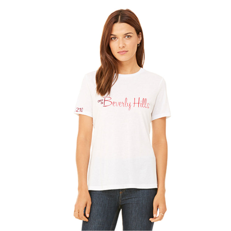 Beverly Hills 90210 women's tee shirt
