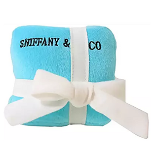 """Sniffany"" blue dog toy"