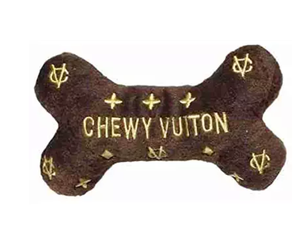 Chewy Vuiton dog toy