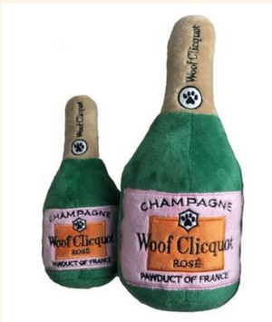 Woof Clicquot dog toy