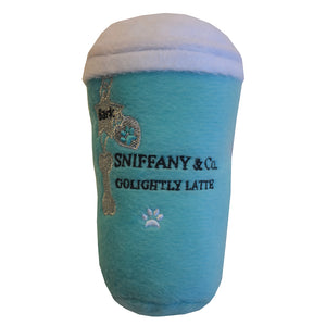 Sniffany latte dog toy