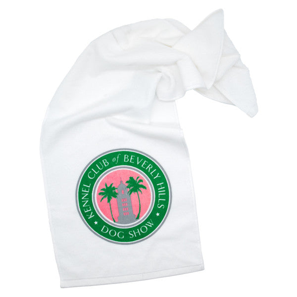 Beverly Hills Dog Show Towel