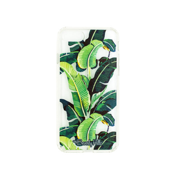 Beverly Hills banana leaf iPhone case