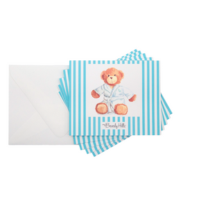 Beverly Hills 90210 teddy bear stationery