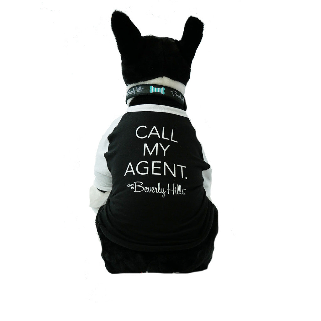 Beverly Hills doggie tee Call my Agent