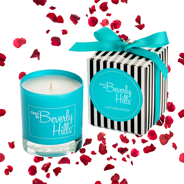 Beverly Hills scented Candle in gift box