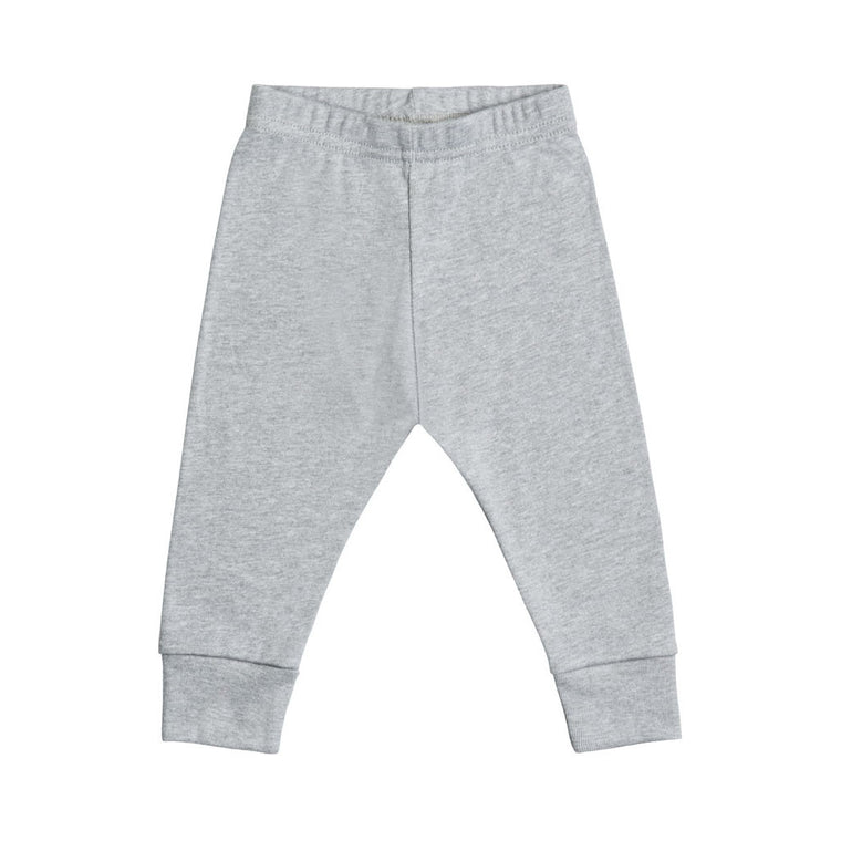 gray infant legging