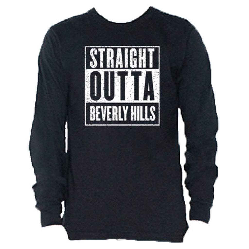 Straight Outta Beverly Hills Mens tee