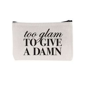 "Beverly Hills 90210 zipper pouch ""Too Glam"""