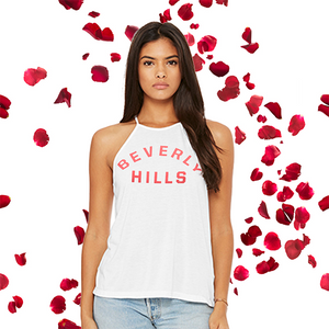 White Beverly Hills Tank Top