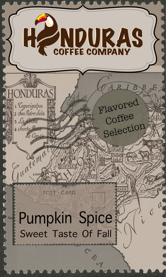 El-Tucan Flavored Coffee Selection (Pumpkin Spice)