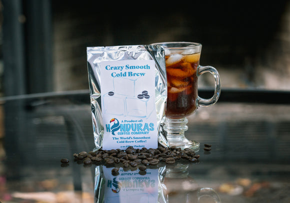 Crazy Smooth Cold Brew Coffee One Cold Brew Packet