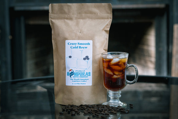 Crazy Smooth Cold Brew Coffee Bag of 6 Cold Brew Packets