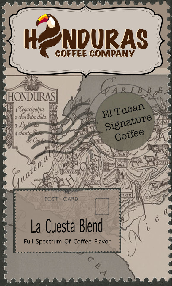 El-Tucan signature Coffee (La Cuesta Blend)