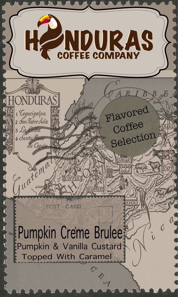 El-Tucan Flavored Coffee Selection (Pumpkin Creme Brûlée)