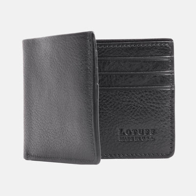 Lotuff Bifold Wallet Black Front