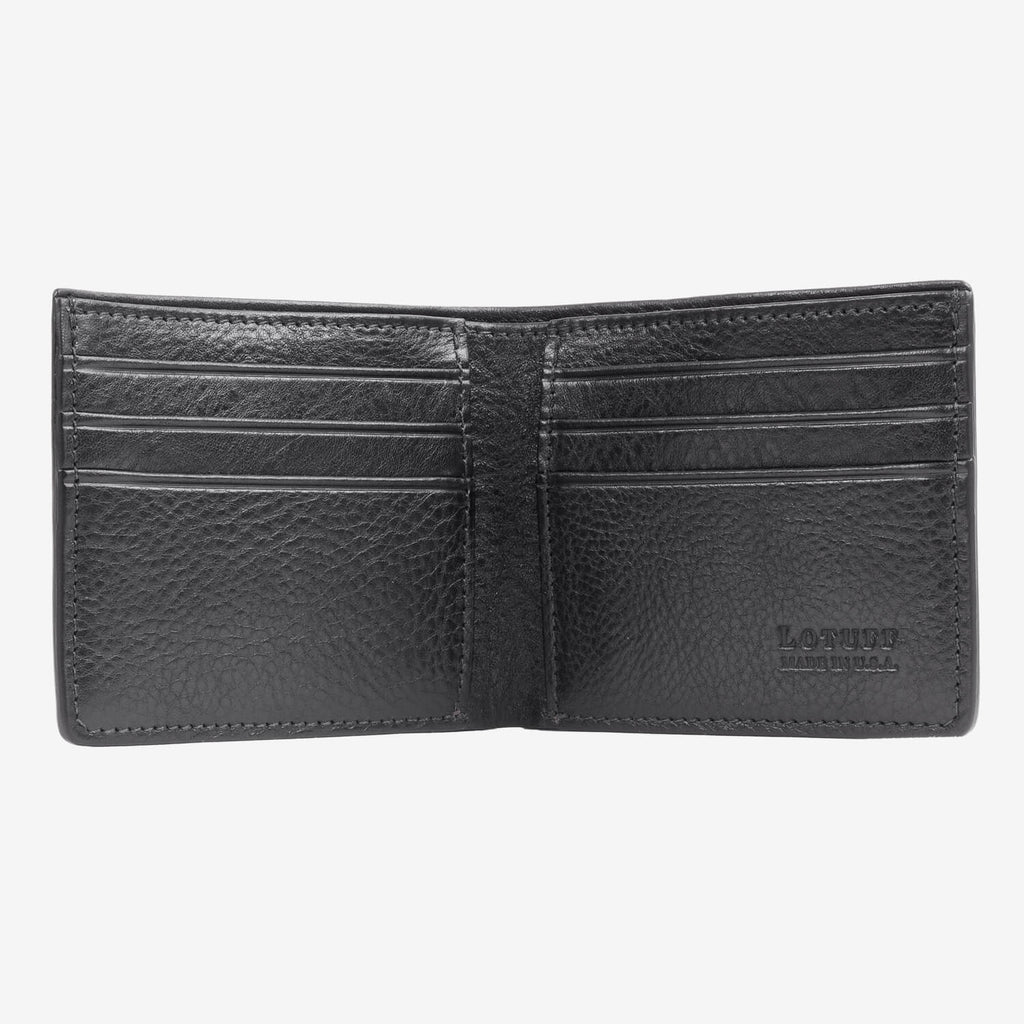 Lotuff Bifold Wallet Black Interior
