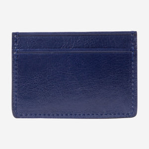 Lotuff Credit Card Wallet Indigo Back