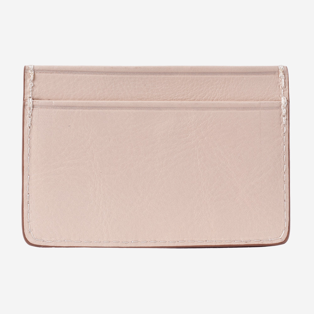 Lotuff Credit Card Wallet Natural Back