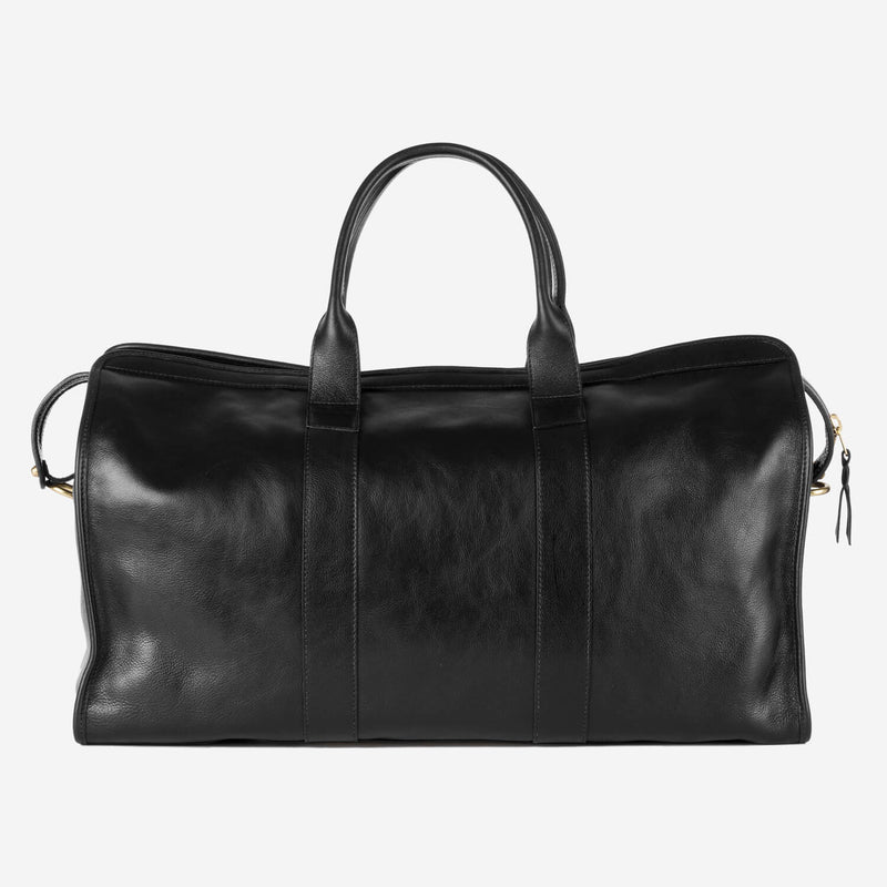 Lotuff Duffle Travel Bag with Pocket Black Front