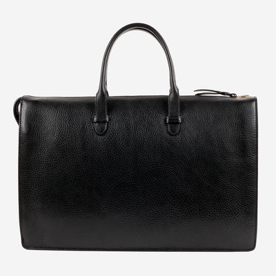 Triumph Briefcase Black Front