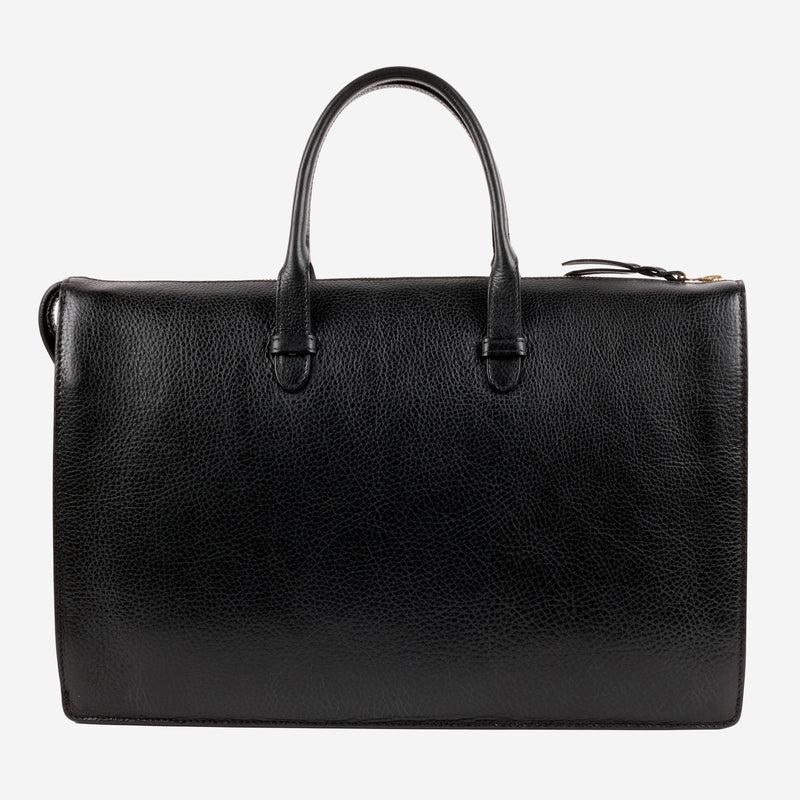 Triumph Briefcase Black Side